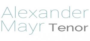 Alexander Mayr - Tenor